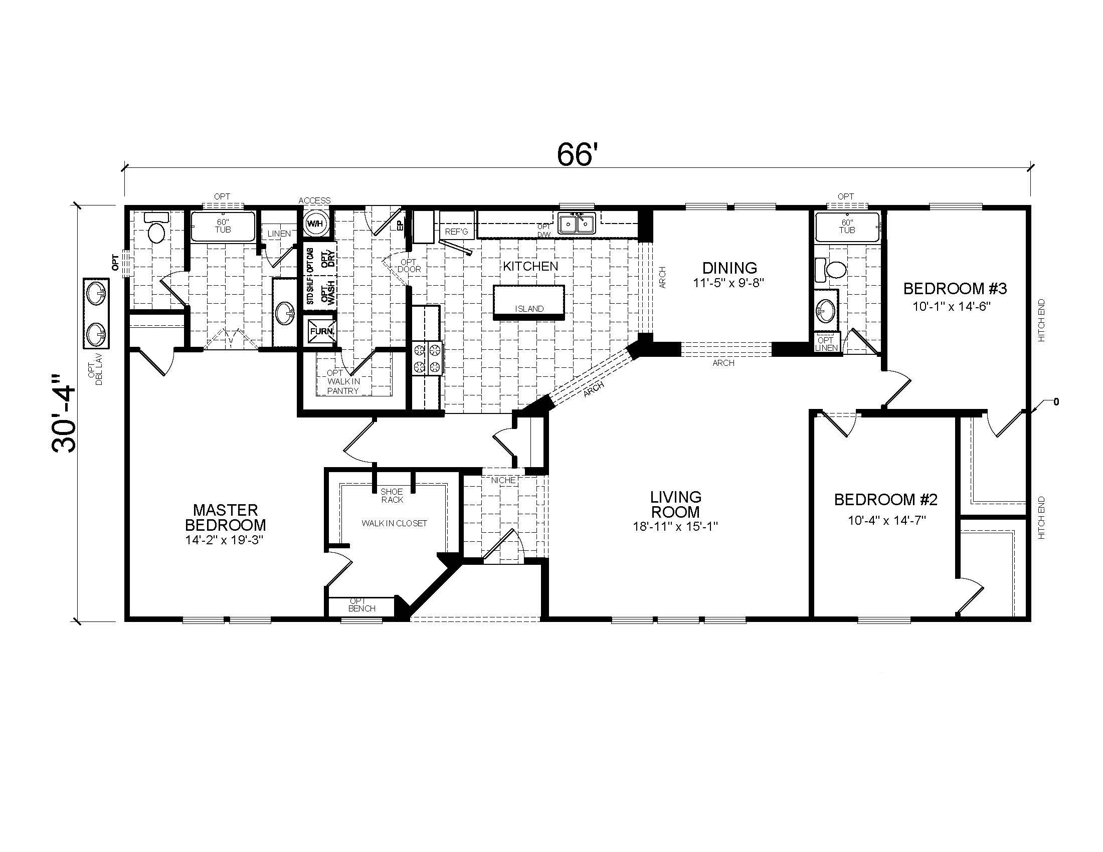 100 Golden West Homes Floor Plans Bartlett Pointe